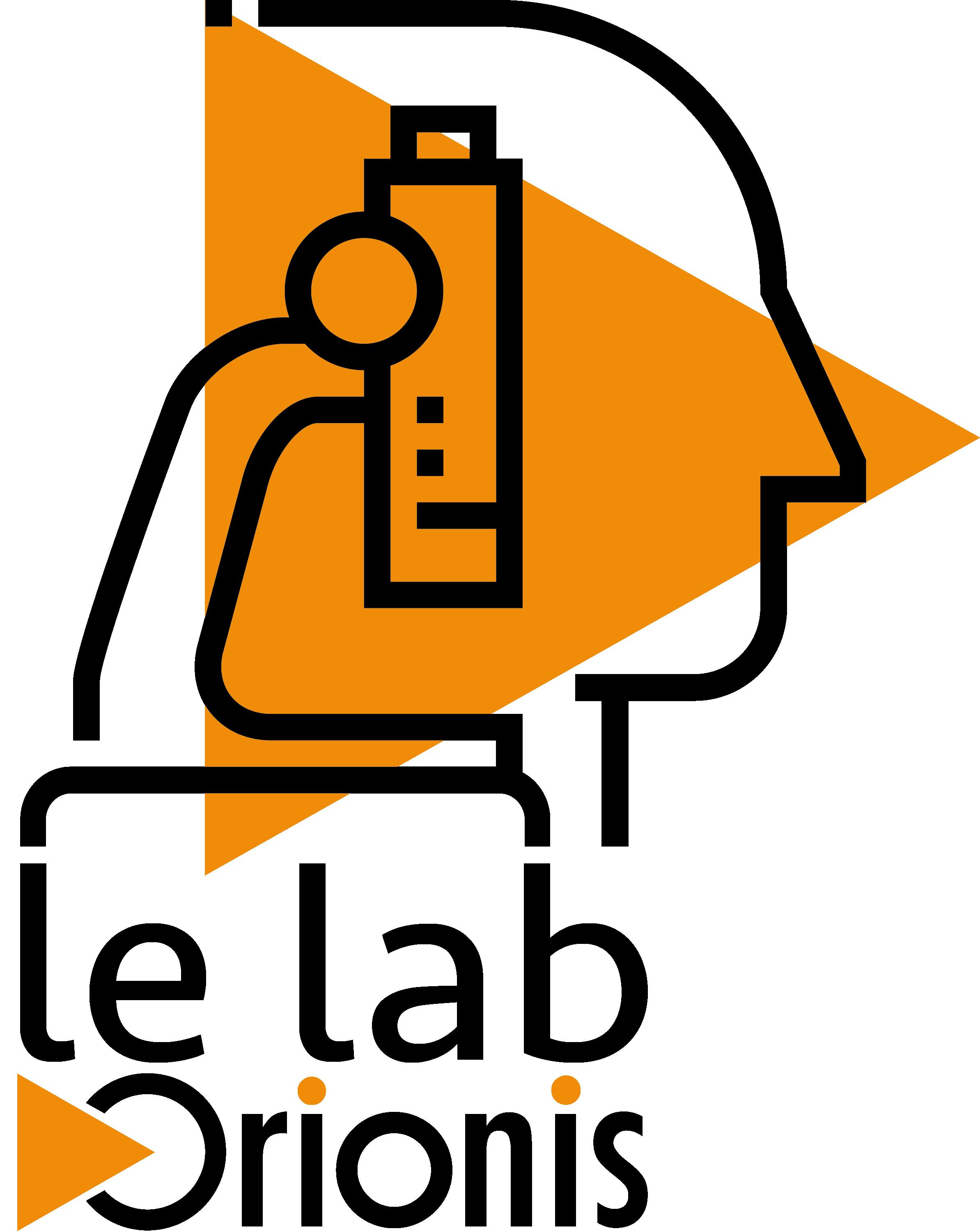 logo le Lab noir